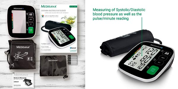 Tensiómetro Medisana BU 546 Connect en oferta en Amazon