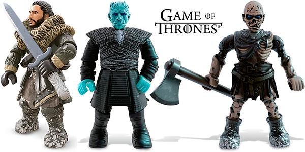 Set Mega Construx Batalla de los Caminantes Blancos de Game of Thrones barato