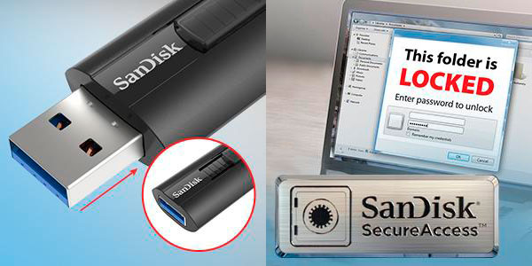 Memoria flash SanDisk Extreme Go USB 3.1 de 64 GB en oferta