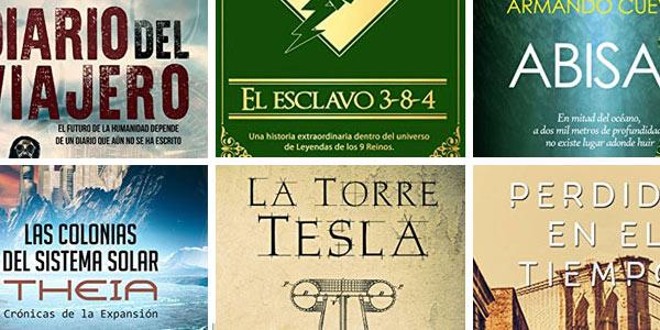 Novelas de ciencia ficción y fantasía gratis en Amazon Prime Reading