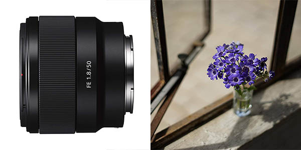 Objetivo fijo Sony SEL50F18F.SYX (FE 50 mm, F1.8) barato