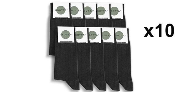 Pack x10 paquetes Calcetines premium GSOTTA baratos en Amazon