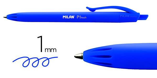 Pack x25 Bolígrafos Milan punta redonda 1 mm chollo en Amazon