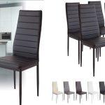Set x4 sillas de comedor Albatros Milano barato en Amazon