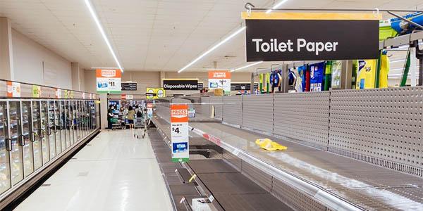 Supermercados vacíos