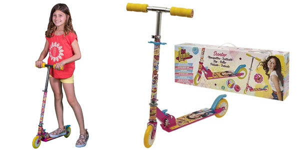 Patinete plegable infantil Soy Luna YLU23000 barato en Amazon