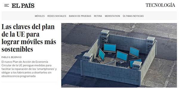 Periódico El País edición digital gratis