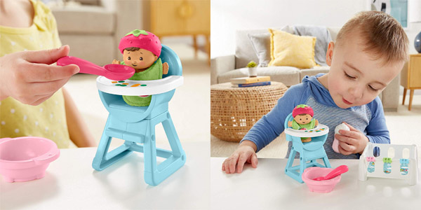 Set Little People Bebe Siesta y Comidita de Fisher Price chollo en Amazon