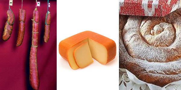 productos de gastronomía típicos de Baleares iconos
