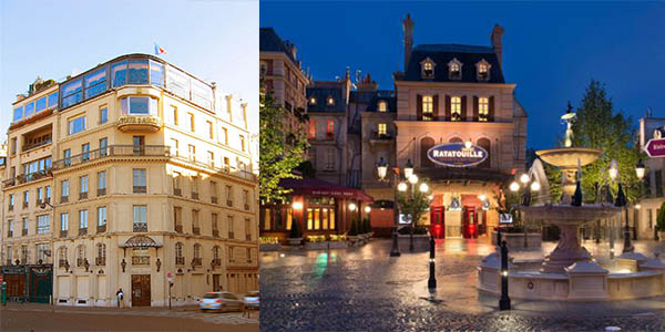 Ratatouille restaurante de París Tour d'Argent inspiración dibujos