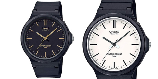 Reloj analógico unisex Casio MW-240 barato en Amazon