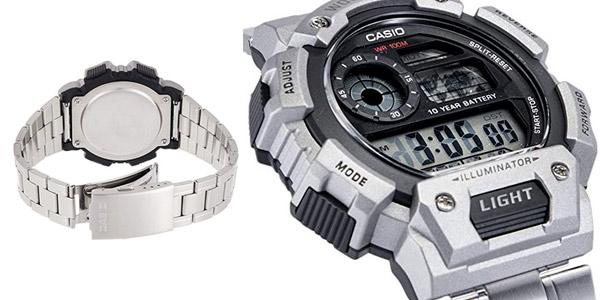 Reloj digital Casio AE-1400WHD-1AVEF para hombre chollo en Amazon