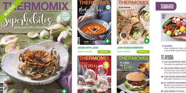 Consulta gratis la revista Thermomix