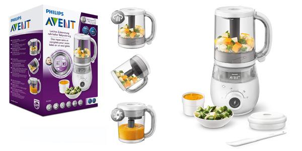 Robot de cocina 4 en 1 Philips Avent SCF883/01 para comida de bebé barato en Amazon