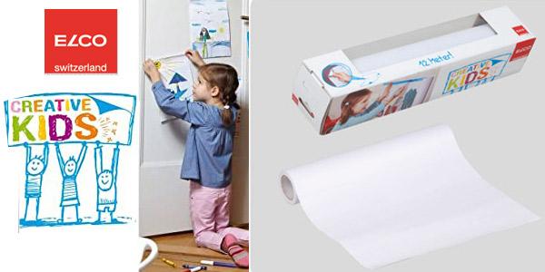 Rollo de papel de dibujo para niños Elco Creative Kids chollo en Amazon
