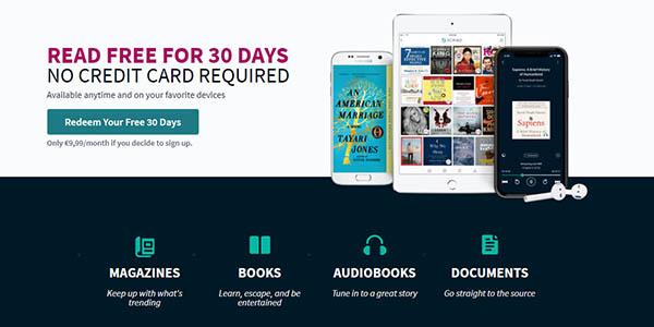 Scribd libros y revistas gratis