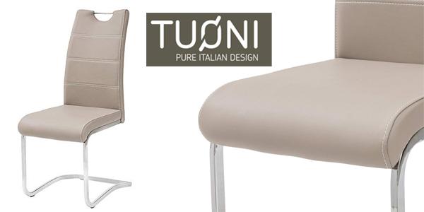 Set x4 sillas de comedor Tuoni Idra chollo en Amazon
