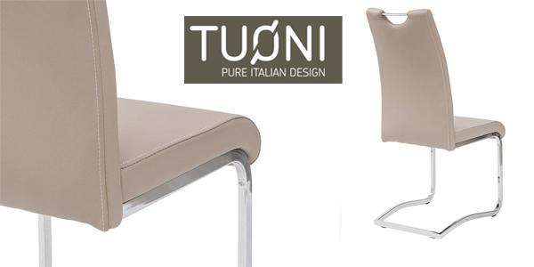 Set x4 sillas de comedor Tuoni Idra chollazo en Amazon