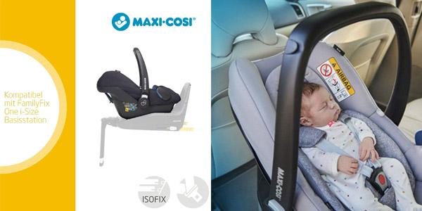 Silla infantil para auto Maxi-Cosi Rock grupo 0+ chollo en Amazon