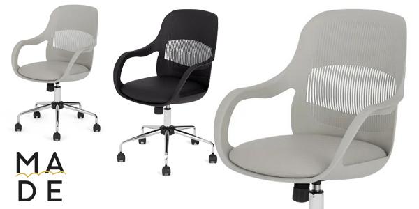 Silla de oficina Hank Office Chair en color gris barata en Made