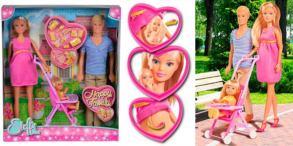 Set Familia feliz de Steffi Love con 3 figuras en oferta
