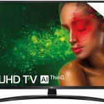 """Smart TV LG 50UM7450 UHD 4K HDR de 50"""" con IA"""