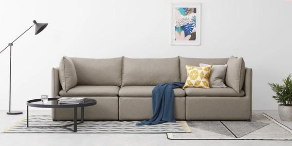 Comprar Sofá de 3 asientos con almacenaje Victor chollazo en Made