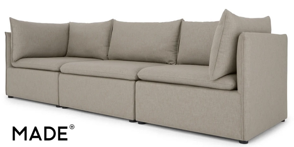 Comprar Sofá de 3 asientos con almacenaje Victor barato en Made