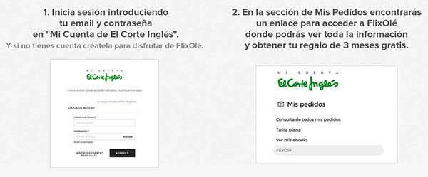 suscripción gratis en FlixOlé para ver cine español online