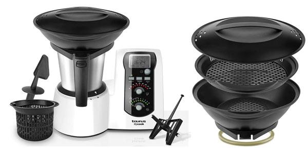Taurus Mycook one robot de cocina con vaporera barato