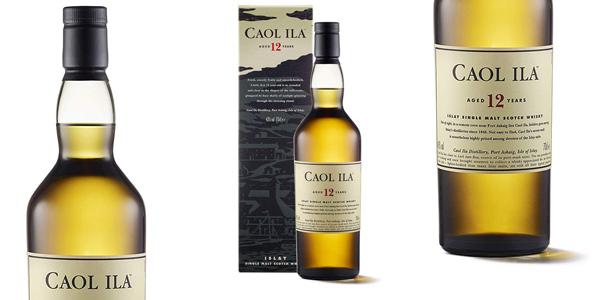 Caol Ila 12 Años Whisky Escocés Puro de Malta de la Isla de Islay de 700 ml barato en Amazon