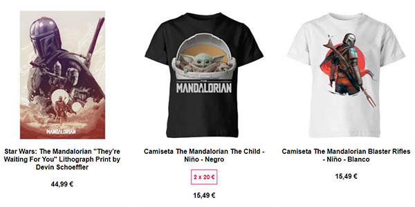 Zavvi Mandalorian ofertas en Merchandising