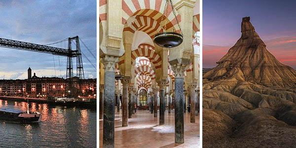 10 lugares recomendados para visitar en España