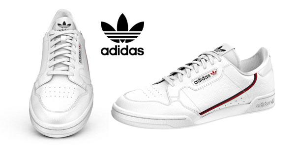 Adidas Continental 80 en oferta en El Corte Inglés