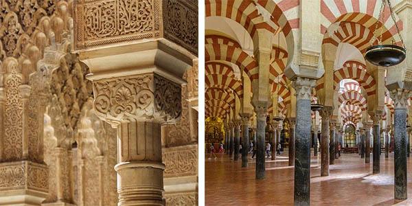 Al-Ándalus lugar y ruta recomendada en España