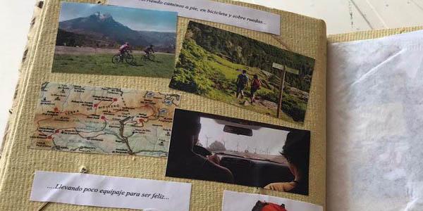 álbums de fotos de viajes caseros