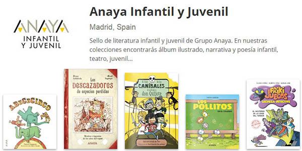 Anaya libros infantiles juveniles online gratis