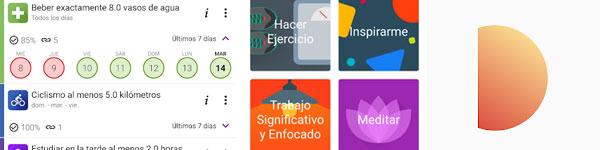 Apps de buenos hábitos y motivación personal