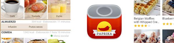Apps Organización de menús