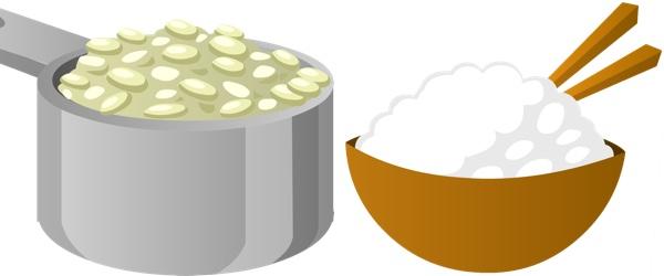Conservar arroz legumbres