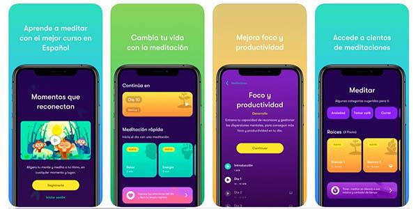 Bambú meditación y ejercicios para dormir App gratis