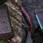 Batería portátil solar de 30.000 mAh