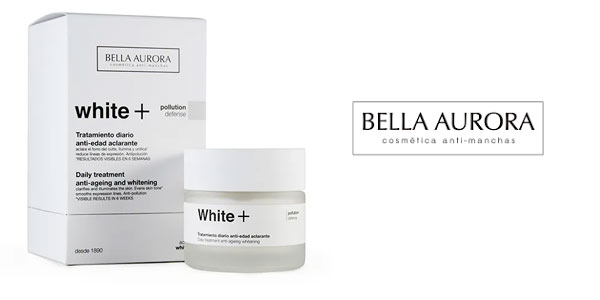 Bella Aurora White+ crema antimanchas barata