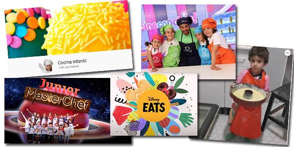 canales y programas de televisión de cocina infantil