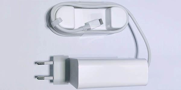 Cargador Xiaomi 65W EU USB-C para ordenadores y smartphones barato