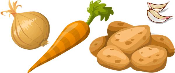 Verduras que se conservan bien sin nevera