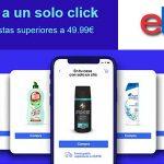 Cesta de la compra eBay ofertas de supermercado