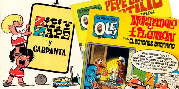 Colección OLÉ! Mortadelo y Filemón Zipi y Zape para leer GRATIS online