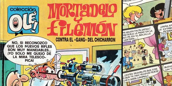 Colección OLÉ! Mortadelo y Filemón Zipi y Zape GRATIS online