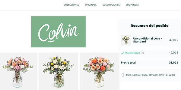 Colvin ramos de flores con cupón descuento Día de la Madre